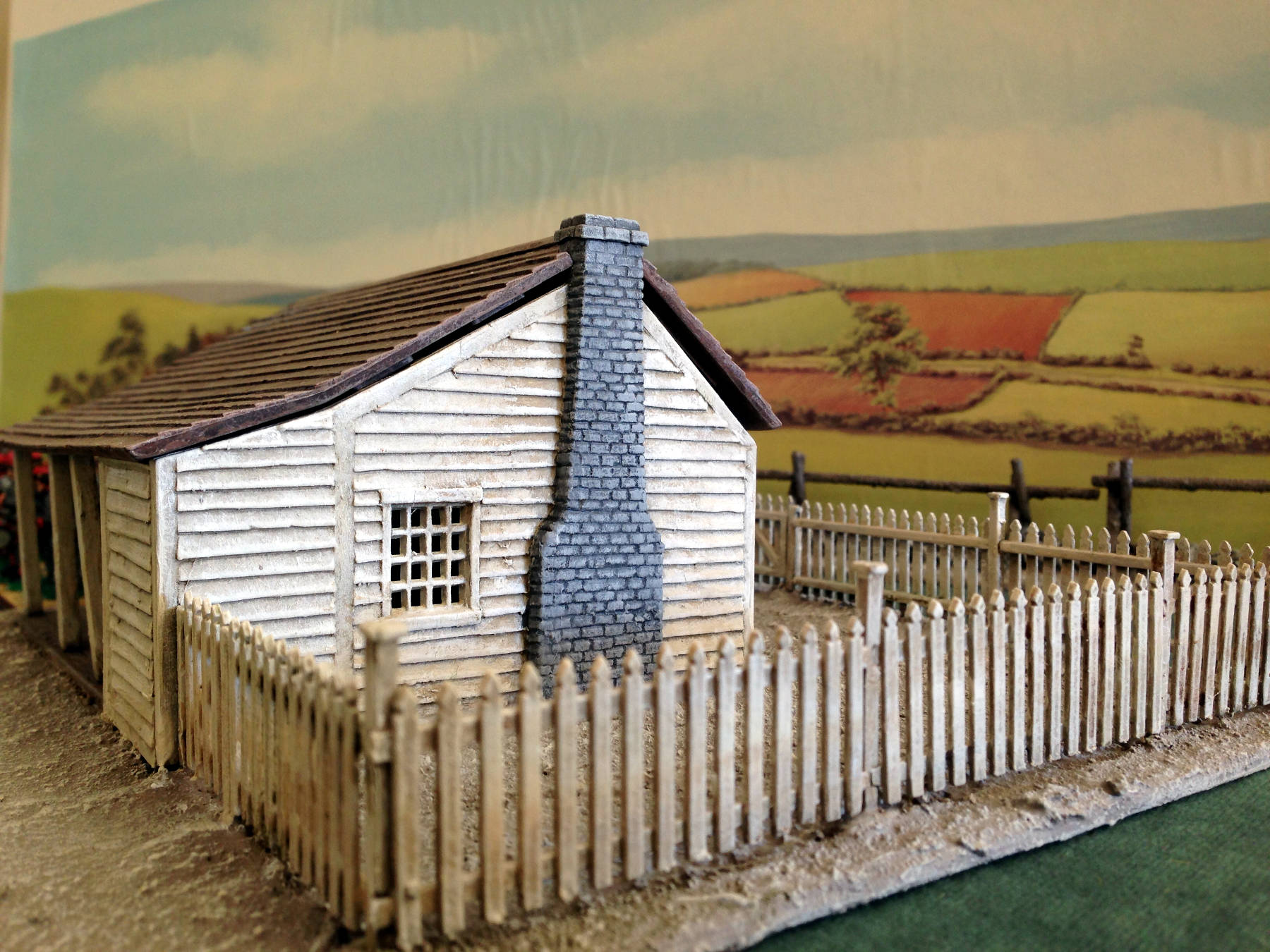 Perry miniatures acw buildings for Miniature architecture
