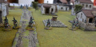 French Dragoons Advance On Foot