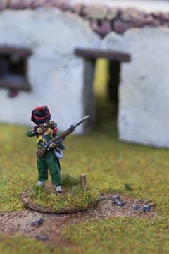 Nassau-Usingen Carabinier Skirmishing