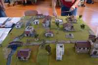 The French Infantry Advance Guard advances (but not in too much of a rush)...