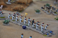 The 3rd/1st Egyptian Rifles stand strong