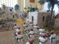 The Egyptian Column's first glimpse of the approaching reinforcements