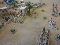 The Egyptians are taking heavy casualties as the 4/Xth Sudanese move up in support