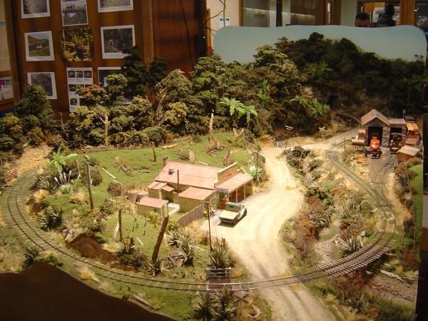 Kerosine Creek Bush Railway by Grant Morrell