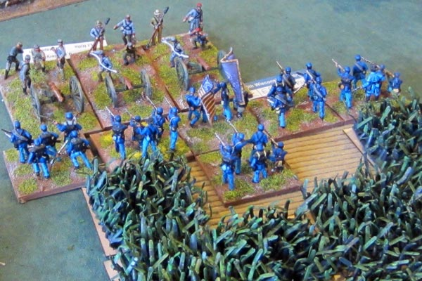 The Lynchburg Artillery gets overrun by the 5th Wisconsin Infantry