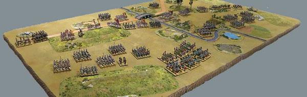 Blücher Battle with Miniatures