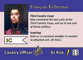 Blücher Sample Commander Card