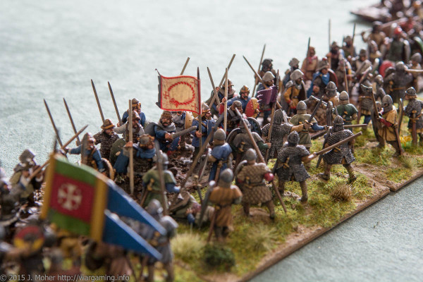 Dux Bellorum clash of Carolingian vs Norman Shieldwalls