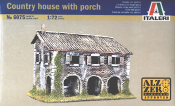 Italeri Country House with Porch box art
