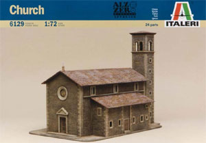 Italeri 6129 Church Box Art