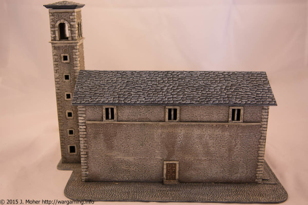 Italeri Church - Left Side View