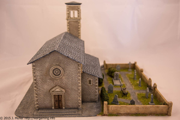 Italeri Church - Front View