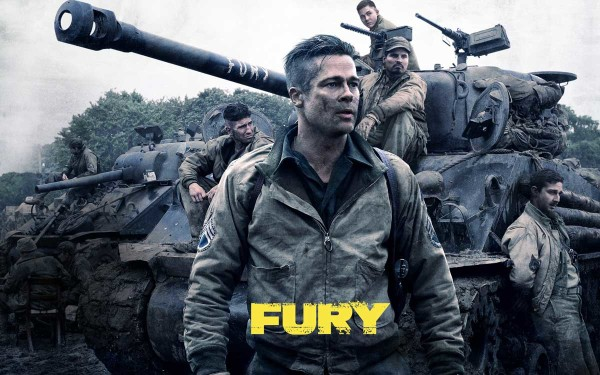 Fury Movie Brad Pitt