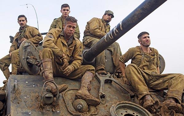 Fury Movie Brad Pitt
