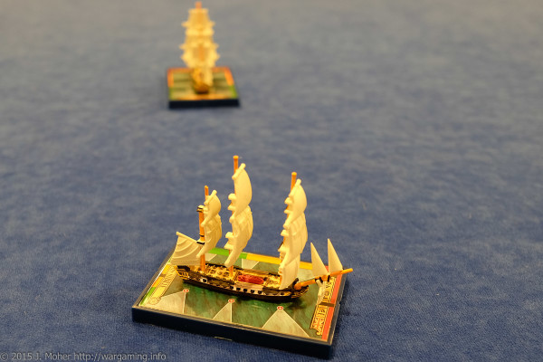 The victorious HMS Sybille sails off into history - Wargaming.info