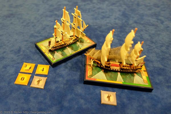 Dryade gets pounded again by HMS Sybille - Wargaming.info