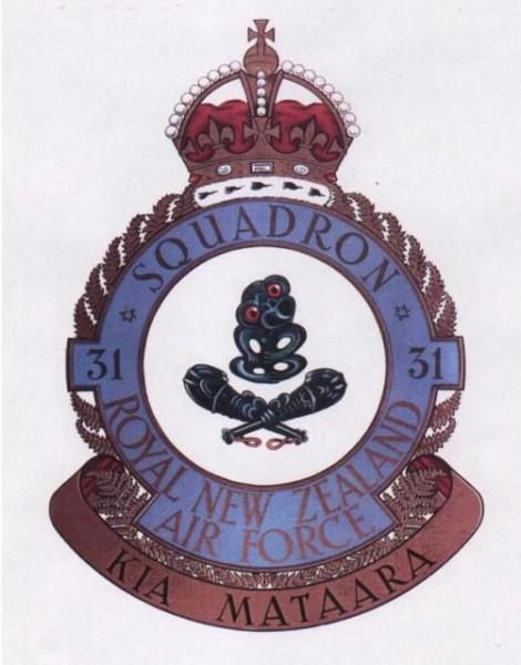 31 Squadron Tiki Badge RNZAF 1943