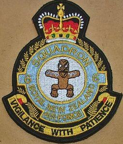 No. 6 Squadron RNZAF 1954 featuring Tane