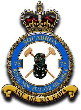 75 Squadron Tiki Badge RAF  Post War
