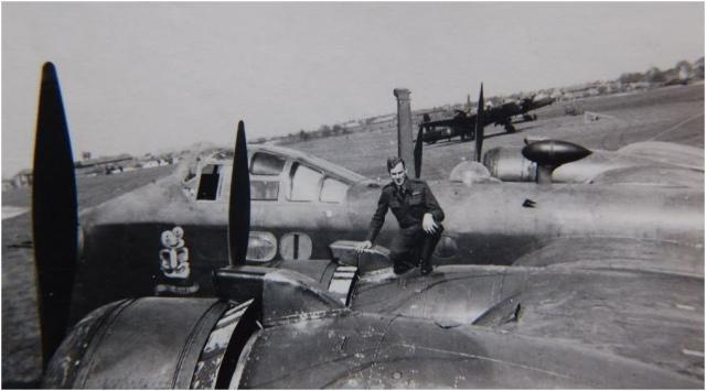 75 Squadron Tiki Nose Art RAF 1943