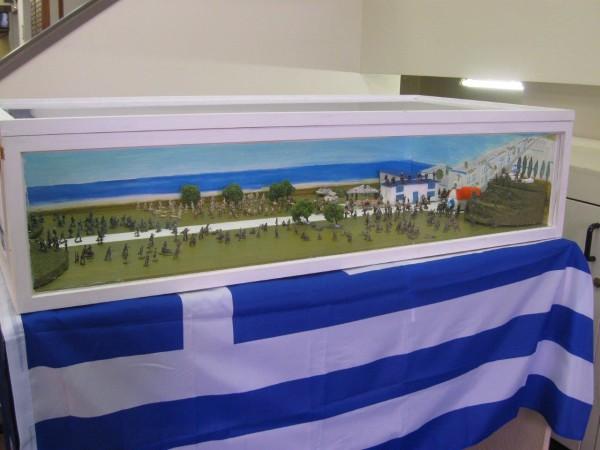 Nick's Battle of Crete Diorama