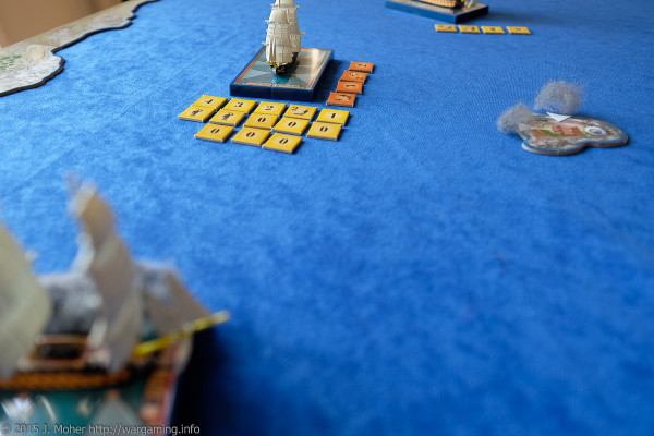 HMS Meleager & HMS Vanguard take on Duguay-Trouin Wargaming.info