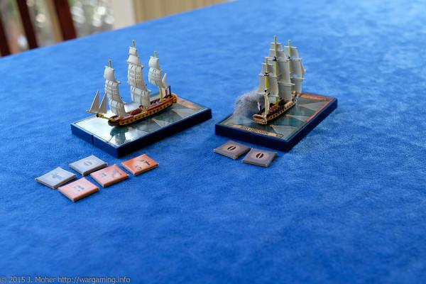 Frigate Encounter: HMS Concorde vs. Courageuse
