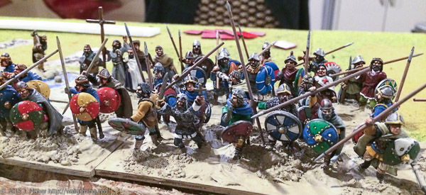My 28mm Dux Bellorum Carolingians wargaming.info