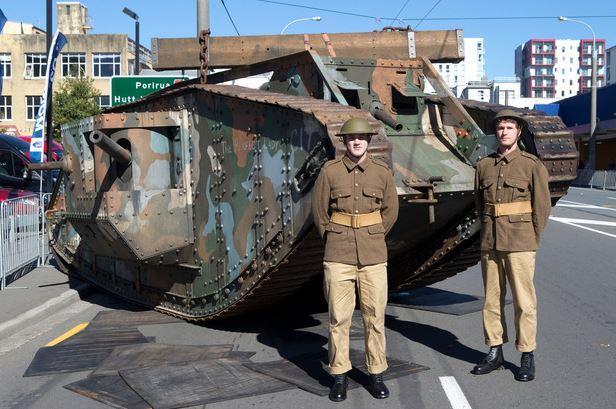 Wellington ANZAC Day Parade
