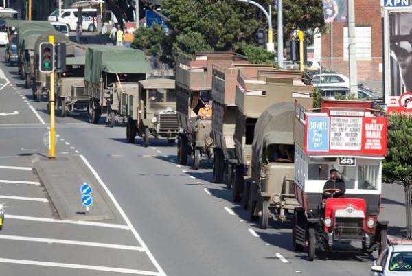 Wellington ANZAC Day Parade