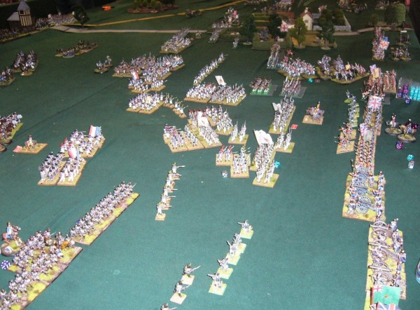 Christchurch Wargaming Club Waterloo 200 Refight