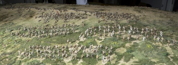 Part of Sir Peter Jackson's Chunuk Bair Diorama