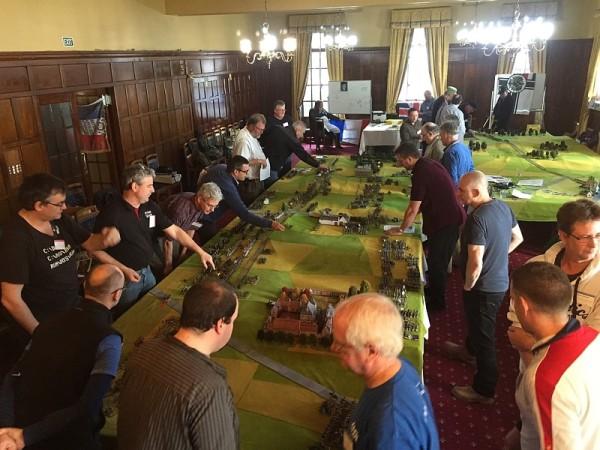 Wellington Waterloo 200 Re-fight Wargaming.info