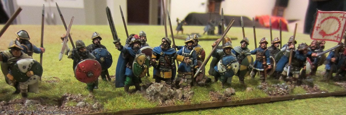 Carolingians vs. Vikings Dux Bellorum wargaming.info