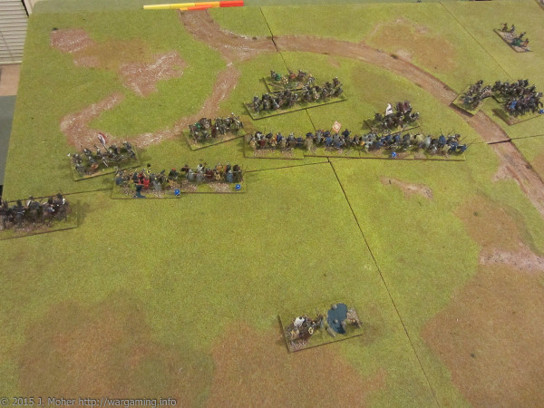 Carolingians vs. Vikings Dux Bellorum wargaming.info