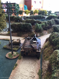 The Hetzer commander's view...