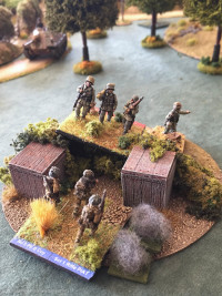 The German's overwhelm the plucky OBLI squad
