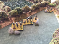 Elements of 2nd German Platoon get caught in the open