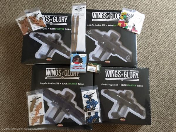 Wings of Glory Giants of the Sky Kickstarter Bundle