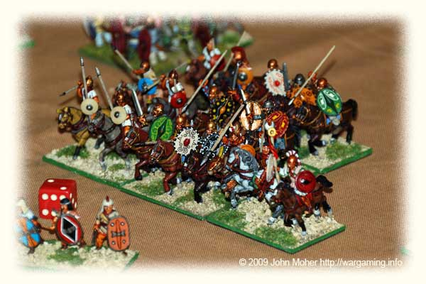 Carthaginian Spanish Cavalry (from the collection of Andrew Bennetts).