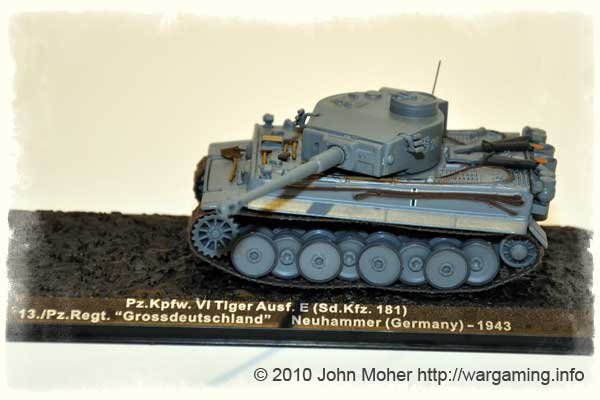 Issue 1: Pzkpfw VI Tiger E - 13th Company, Pz.Regt 'Grossdeustchland', Germany, Early 1943.