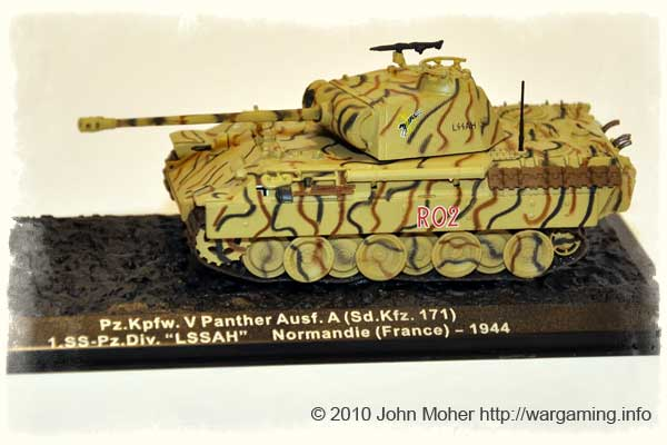 Issue 7: Pzkpfw V Panther ausf A, 1st SS Pz.Div Leibstandarte SS Adolf Hitler, Normandy 1944.