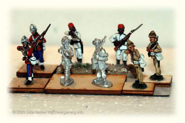 28mm Askari Figures 1
