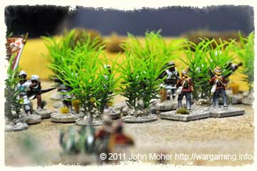 Jihadiyya Riflemen open fire from the Thorn Thicket