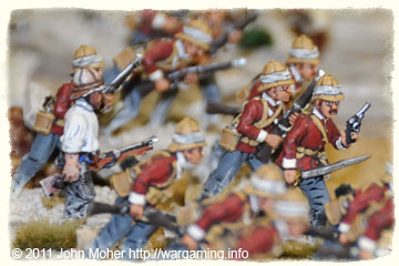 B Company, Yorkshires skirmishing with the Dervishes