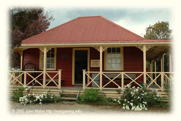 """This is an averaged sized 'house', Colonel P. F. de Quincey's Cottage, built in 1861. It later became known as """"Cornhill""""."""