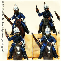 Natal Carbineers contingent from the Anglo-Zulu War of 1879.