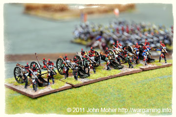 French Medium Foot Battery pounds the Austrians