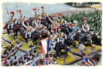 Eugéne's Carabinier Regiment prepares to charge!