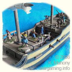 Arrr! A Pirate Ship Ye Say...